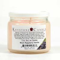 Black Raspberry Vanilla Soy Jar Candles 5 oz