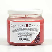 Cranberry Chutney Soy Jar Candles 5 oz
