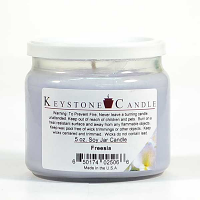 Freesia Soy Jar Candles 5 oz