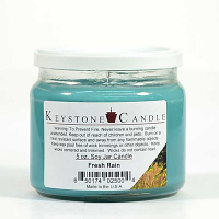 Fresh Rain Soy Jar Candles 5 oz