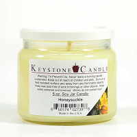 Honeysuckle Soy Jar Candles 5 oz