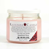 Sweetheart Rose Soy Jar Candles 5 oz