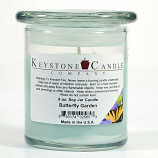 Butterfly Garden Soy Jar Candles 8 oz