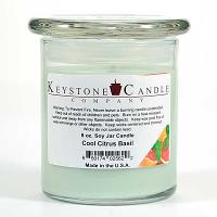 Cool Citrus Basil Soy Jar Candles 8 oz