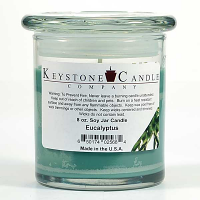 Eucalyptus Soy Jar Candles 8 oz