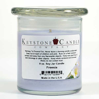 Freesia Soy Jar Candles 8 oz