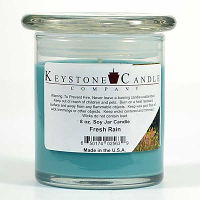Fresh Rain Soy Jar Candles 8 oz