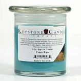 Fresh Rain Soy Jar Candles 8 oz