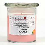 Juicy Peach Soy Jar Candles 8 oz