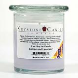 Lemon and Lavender Soy Jar Candles 8 oz