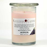Black Raspberry Vanilla Soy Jar Candles 12 oz Madison
