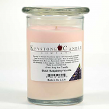 Black Raspberry Vanilla Soy Jar Candles 12 oz Madison