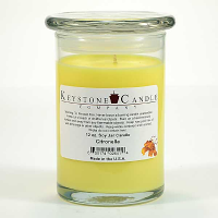 Citronella Soy Jar Candles 12 oz Madison