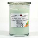 Cool Citrus Basil Soy Jar Candles 12 oz Madison