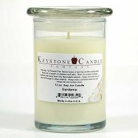 Gardenia Soy Jar Candles 12 oz Madison