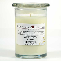 Gardenia Soy Jar Candles 12 oz Madison