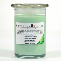 Honeydew Melon Soy Jar Candles 12 oz Madison