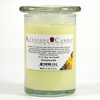 Honeysuckle Soy Jar Candles 12 oz Madison