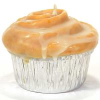 Cinnamon Bun Muffin Candle