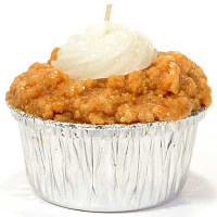 Pumpkin Cream Cheese Muffin Candle