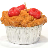 Cherry Muffin Candle