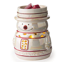 Glimmer Fragrance Warmer Snowy