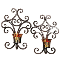 Truffle Wall Sconces Set of 2
