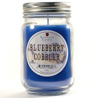 Blueberry Cobbler Mason Jar Candle Pint