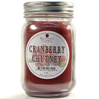Cranberry Chutney Mason Jar Candle Pint
