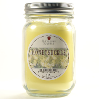 Honeysuckle Mason Jar Candle Pint