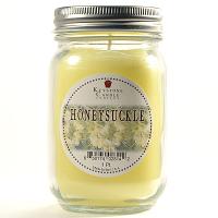 Honeysuckle Mason Jar Candle Pint