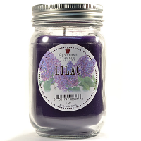 Lilac Mason Jar Candle Pint