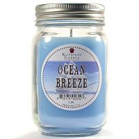 Ocean Breeze Mason Jar Candle Pint