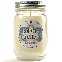 Smoke Eater Mason Jar Candle Pint