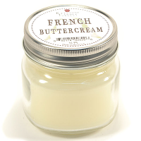 French Butter Cream Mason Jar Candle Half Pint