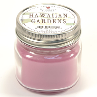 Hawaiian Gardens Mason Jar Candle Half Pint