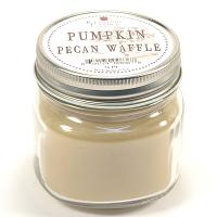 Pumpkin Pecan Waffle Mason Jar Candle Half Pint