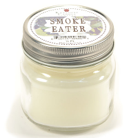 Smoke Eater Mason Jar Candle Half Pint