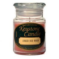 Amber Oud Wood Jar Candles 5 oz