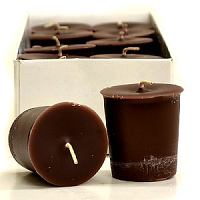 Chocolate Mint Scented Votive Candles
