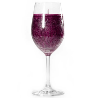 Merlot Scented Candle Wine Glass