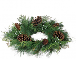 Mixed Pine 6.5 Inch Candle Ring