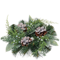 Pine Noble Fir 2 Inch Candle Ring