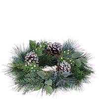 Pine Noble Fir 4.5 Inch Candle Ring