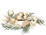 Pine Cream Berry 1.5 Inch Candle Ring