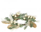 Pine Cream Berry 4.5 Inch Candle Ring
