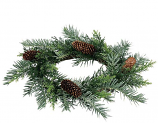 Prickly Pine 6.5 inch Candle Ring
