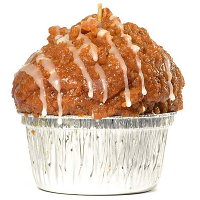 Apple Muffin Candle