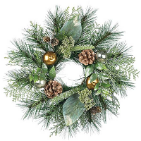 Long Pine Needle 4.5 Inch Candle Ring