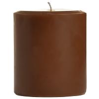 3 x 3 Chocolate Fudge Pillar Candles